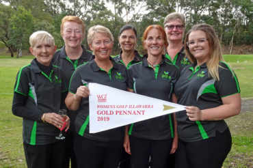 2019 Gold Pennant Winners: Russell Vale
