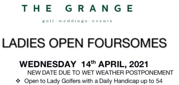 The Grange Open Foursomes 2021