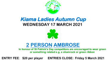Kiama Autumn Cup