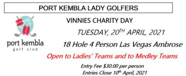 Vinnies Charity Day 2021 at Port Kembla