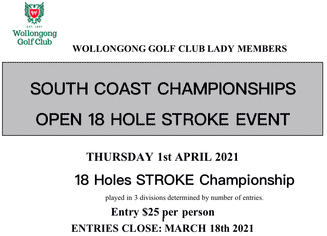South Coast Open 2021