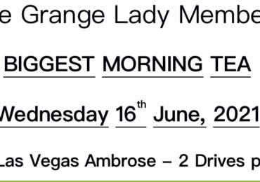 The Grange Biggest Morning Tea